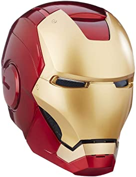 Marvel Legends Casco Iron Man Eléctrico Escala 1/1 Hasbro Elmo ...