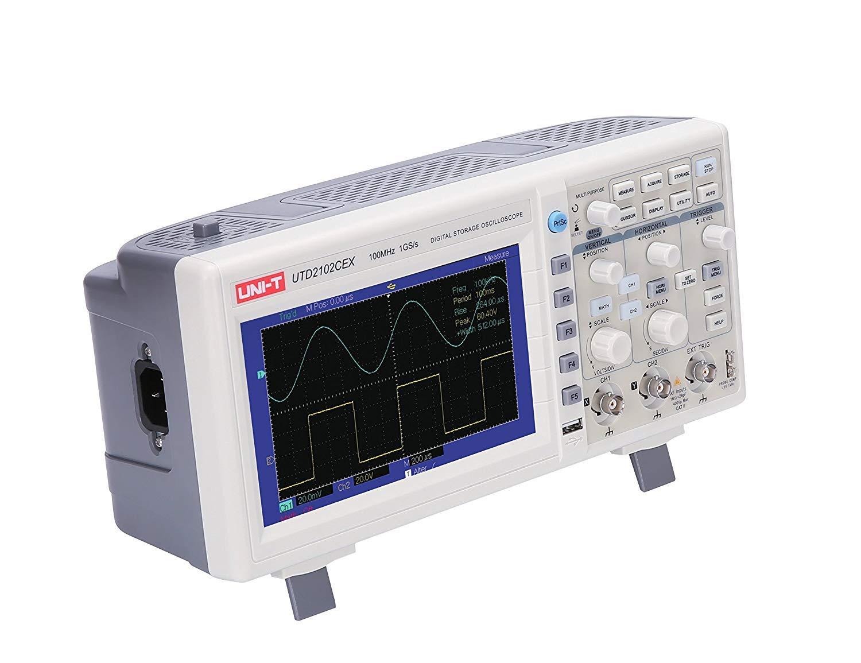 UNI-T 7730071 Digital Storage Oscilloscope, White/Grey by Uni-T (Image #3)