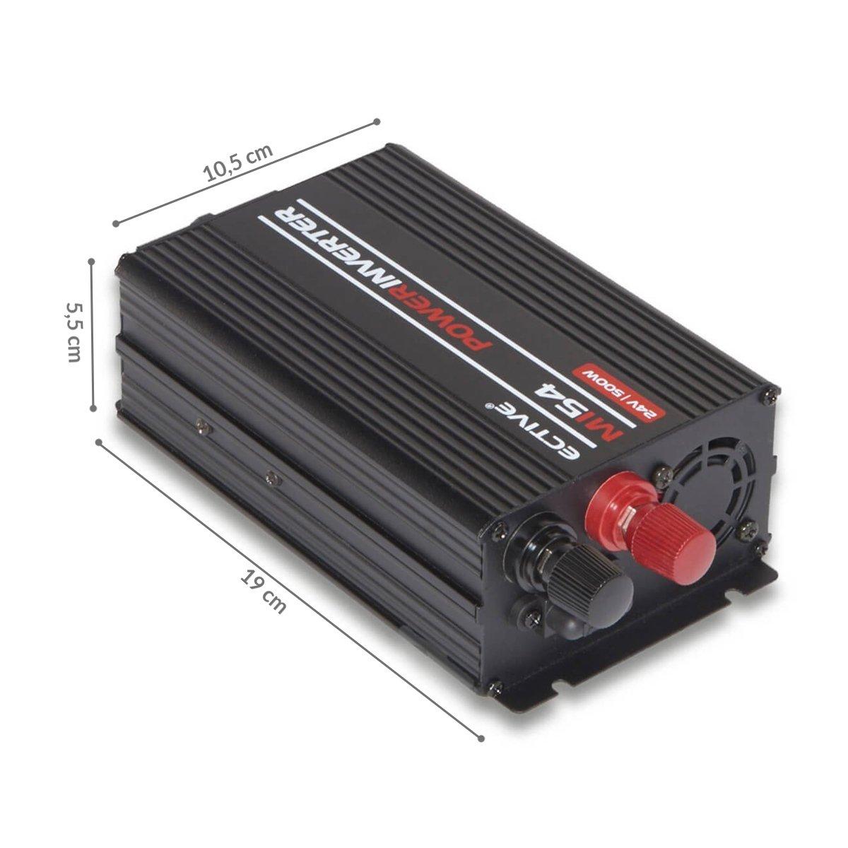 300W ECTIVE 1500W 12V zu 230V MI-Serie Wechselrichter mit modifizierter Sinuswelle in 7 Varianten 3000W