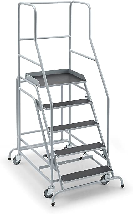 Mobile Escalera, con 5 niveles, serigrafiado placa – Nivel Escaleras mobile Plataforma Escaleras llevado ayudas Nivel Escaleras mobile Plataforma Escaleras llevado ayudas Nivel Escaleras mobile Plataforma Escaleras llevado ayudas: Amazon.es: Oficina y