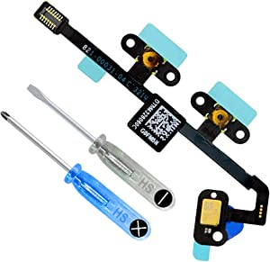 MMOBIEL Volume Button Connector Flex Cable Ribbon Replacement Compatible with iPad Air 2 9.7 Inch incl. 2 x Screwdriver