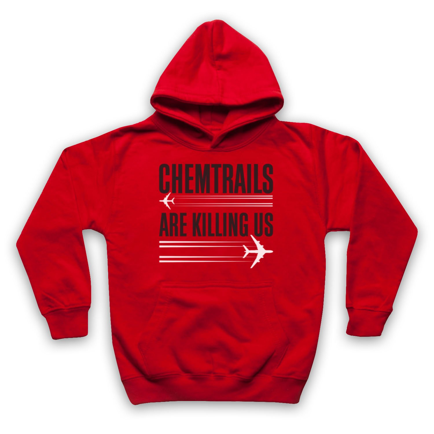 My Icon Little Boys Chemtrails are Killing Us Protest Kids Hoodie