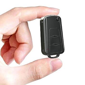 BestRec® Grabadora de voz, 8 GB llavero digital grabadora de ...