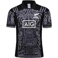 CRBsports Equipo De Nueva Zelanda, Maori All Blacks, Rugby Jersey, 17-18, Nueva Tela Bordada, Swag Sportswear