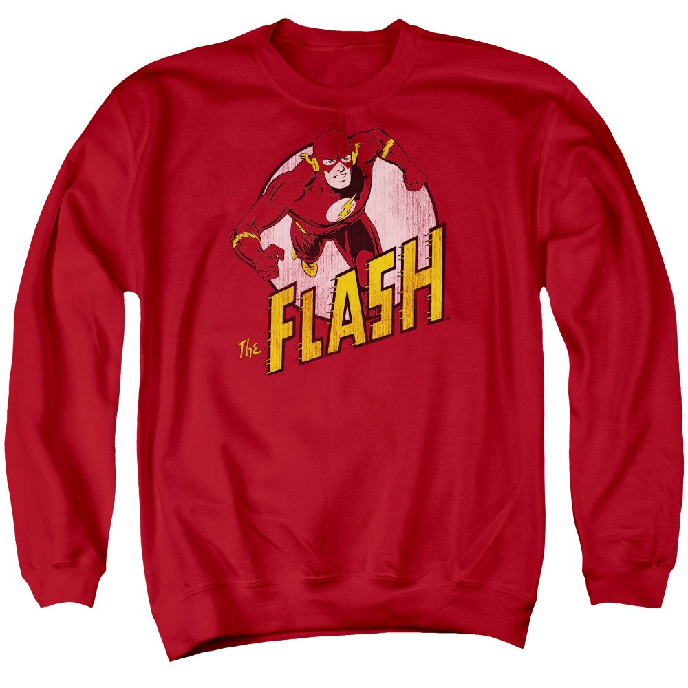 DC Comics Mens The Flash Sweater