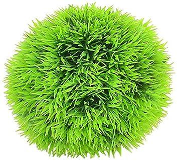eDealMax acuario de agua simulada bola de la hierba Adorna, 3.5, Verde