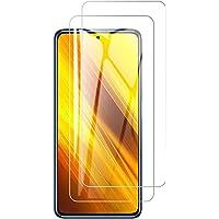 Betefly Mica Xiaomi Poco X3 NFC/Poco X3/Poco X3 Pro, Protector Pantalla de Vidrio Cristal Templado, Transparente, 2…