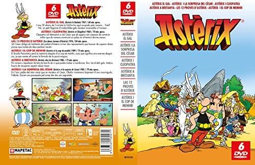 Pack Asterix 6 DVD Animación (Catalán): Amazon.es: Gaetan Brizzi: Cine y Series TV
