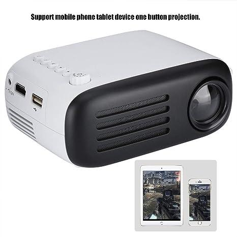 Proyector LED para el hogar, soporte de fuente de ...