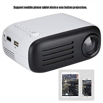 Tonysa Mini proyector LED portátil LCD TFT 1920 * 1080 proyector ...
