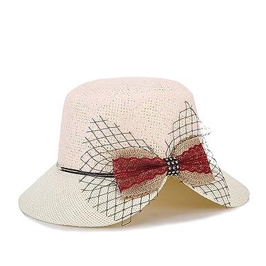 Flor De Papel Para Mujer Sombrero Cloche Sombrero De Verano