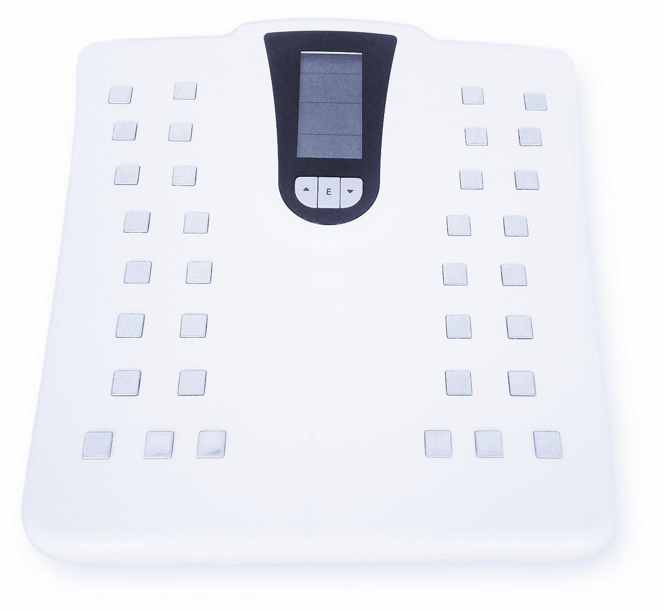 G & G 180 Kg/0,1kg HCF - Báscula con medición de cuerpo para agua y porcentaje de grasa: Amazon.es: Salud y cuidado personal