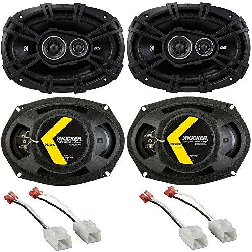 Kicker 41DSC693 D-Series Coaxial 3-Way Speaker with 1/2