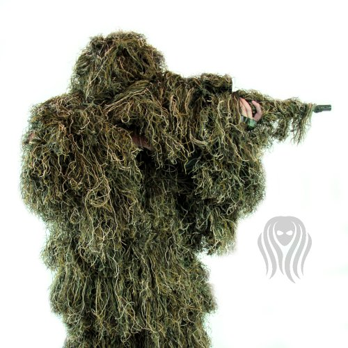 Review Ghost Ghillie Suit (Woodland, Extra Large)
