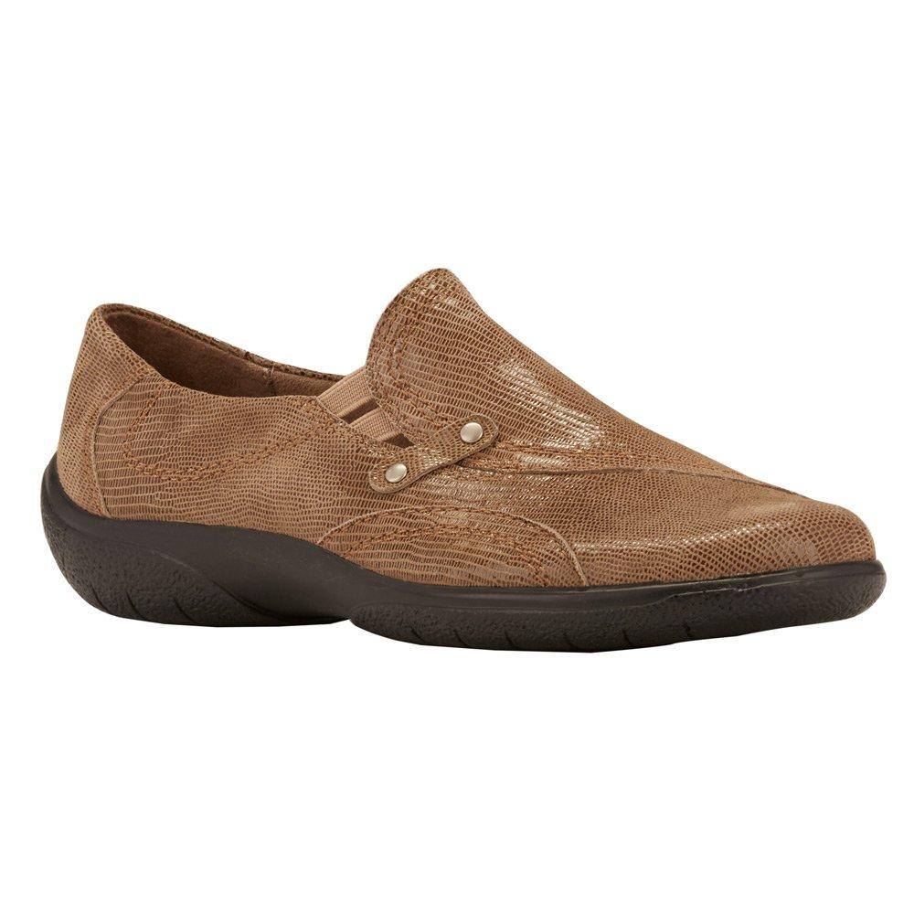 Walking Cradles Women's Amp Flat B005AZRJVI 6.5 N (A)|Mid Taupe Patent Lizard
