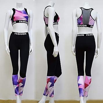WEII Conjunto de Ropa Deportiva de Mujer Gimnasio Fitness ...