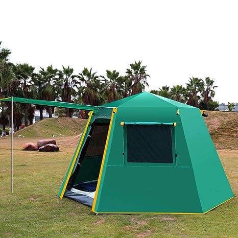 LTAYZ Camping Wild Big Tent a Prueba de Lluvia Espesar Aluminio ...