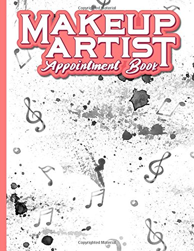 Download Makeup Artist Appointment Book: 6 Columns Appointment Maker, Appointment Tracker, Hourly Appointment Planner, Music Lover Cover (Volume 50) PDF