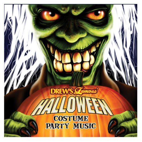 Price comparison product image Turn Up The Music Inc. 35749 Halloween Costume Party Music CD - plastic
