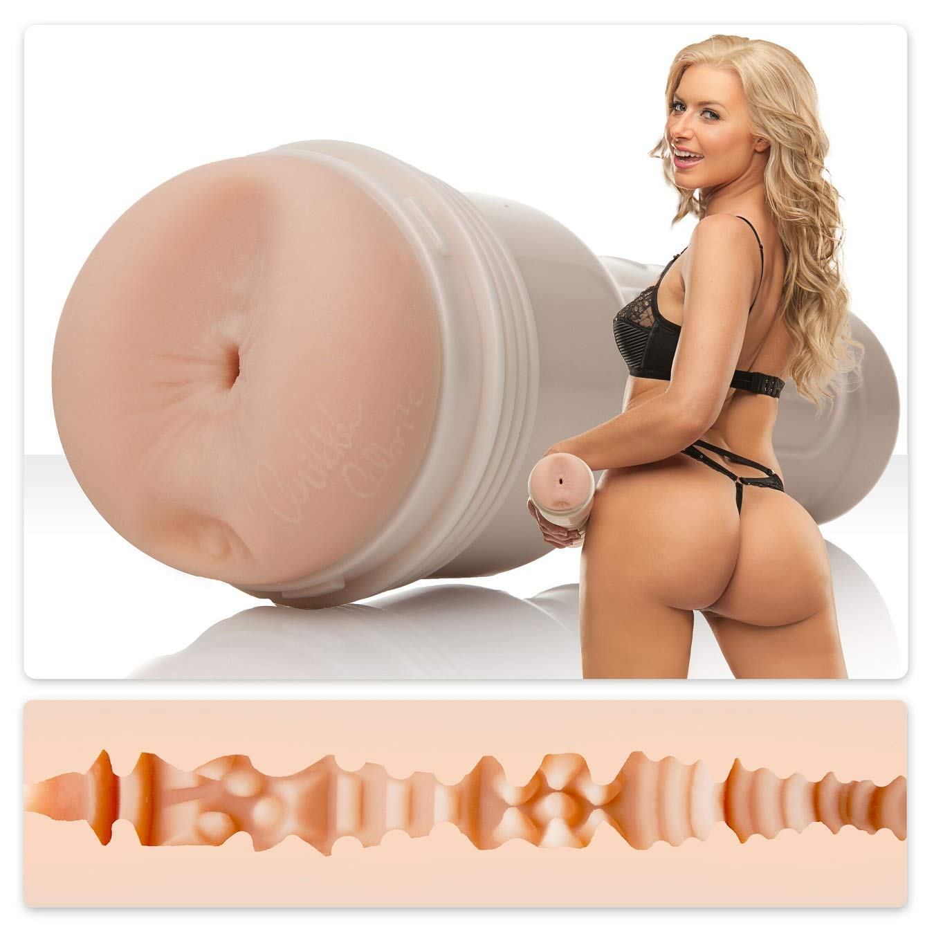 Fleshlight Girls   Anikka Albrite   Siren   Male Masturbator Butt
