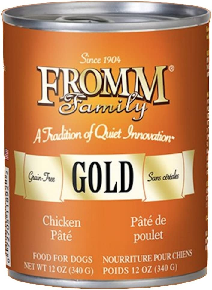 Fromm Gold Nutritional Chicken Can Dog Food Case