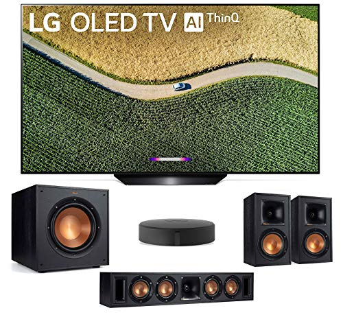 LG OLED65B9P 65″ 4K Ultra High Definiton Smart OLED TV with a Klipsch WISA Speaker System