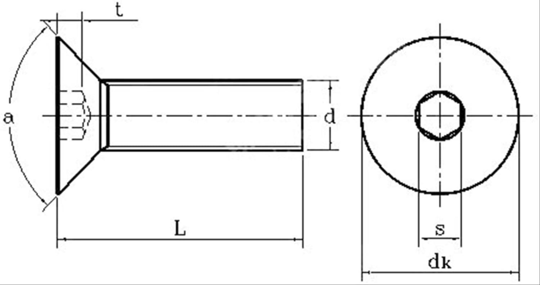 PMWLKJ 50pcs M2 M2.5 M3 M4 M5 Mm Tornillo de cabeza hueca hexagonal de cabeza plana Oval Tornillo negro M2-5mm Como se muestra 50pcs