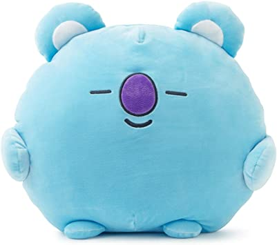 BT21 Official Merchandise by Line Friends - KOYA Character Pong Pong Cushion 11.8 Inches