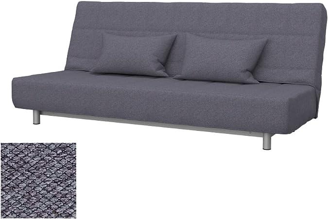 Soferia IKEA BEDDINGE Funda para sofá Cama de 3 plazas, Nordic Anthracite
