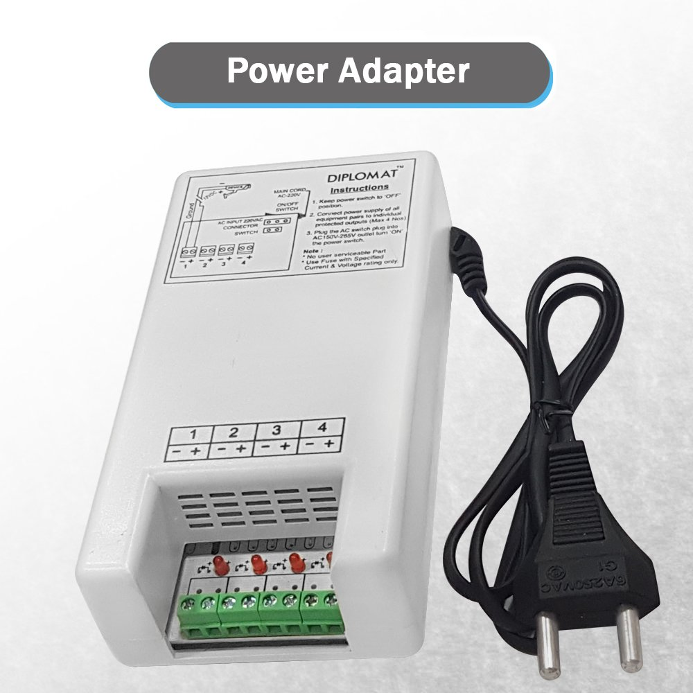 Buy Elove 5 Amp 12vdc 4 Channel Power Adapter Supply Ac Powered Led Circuit 120w Flood Lights Enkonn Technology Co Ltd Smps For Cctv Security Bullet Dome Camera Online At Low Prices In India