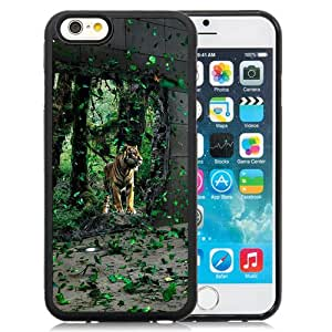 New Beautiful Custom Designed Cover Case For iPhone 6 4.7 Inch TPU With Last Tiger Phone Case