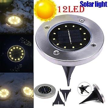 Review LtrottedJ 12 LED Solar