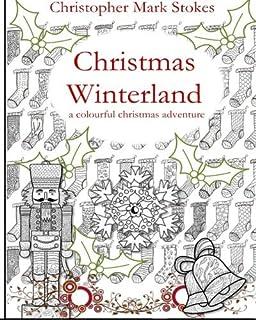 Christmas Garden Colouring Book Amazoncouk De Ann Black