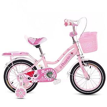 Vélos pour Enfants 2-4-6 Ans bébé vélo 12 14 16 18 Pouces Fille bébé  Poussette Enfants vélo Rose (Size   18 inches)  Amazon.fr  Cuisine   Maison a251c41e0a3c