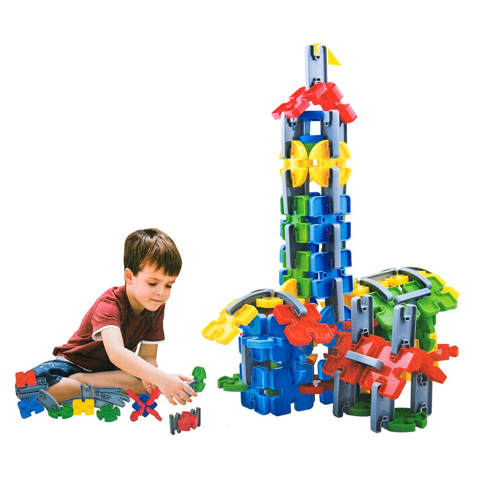 COLORTREE Educational Diy Building Blocks for Kids