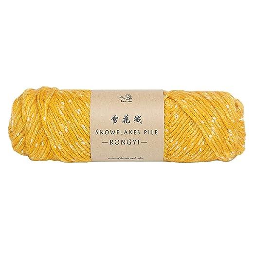 TwoCC-Lana,paquete esencial de bolas de lana suave - Bufanda hecha ...