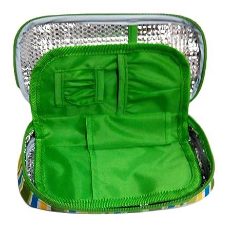 Garosa Insulin Cooler Travel Case for Diabetic Organizer Insulated Cooling Bag Portable Medical Insulation Cooler Travel Case