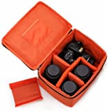 G-raphy Camera Case Insert Interior Case for all DSLR SLR Cameras - Orange