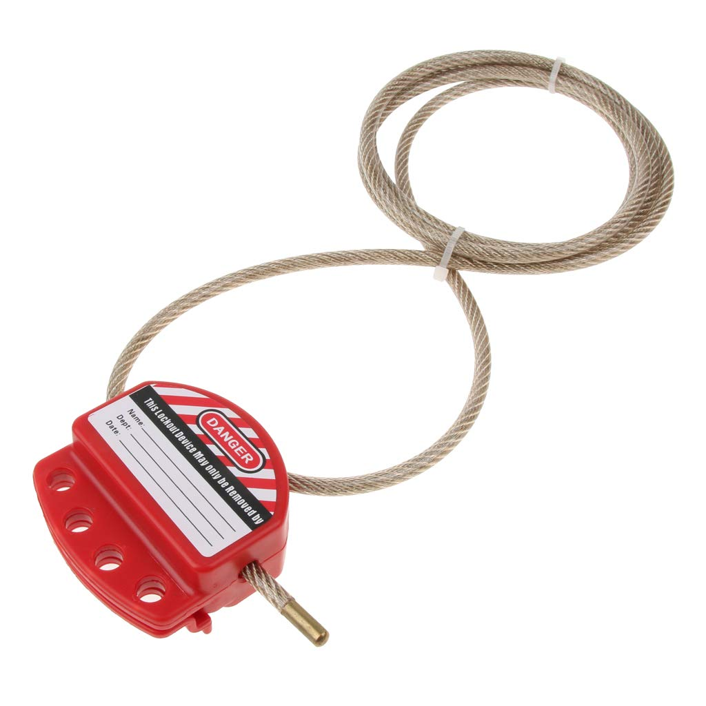 B Blesiya 6ft Cable Lock Steel 6ft Bike Lock for Outdoor Cycling for Bicycles Fences Grills Ladders ect.