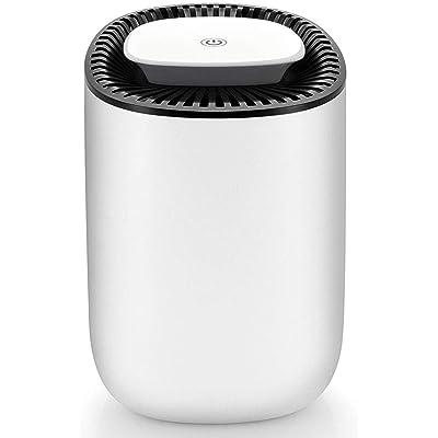 .com - Hysure Quiet and Portable Dehumidifier Electric, Deshumidificador, Home Dehumidifier for Bathroom, Crawl Space, Bedroom, RV, Baby Room(600ml) … -