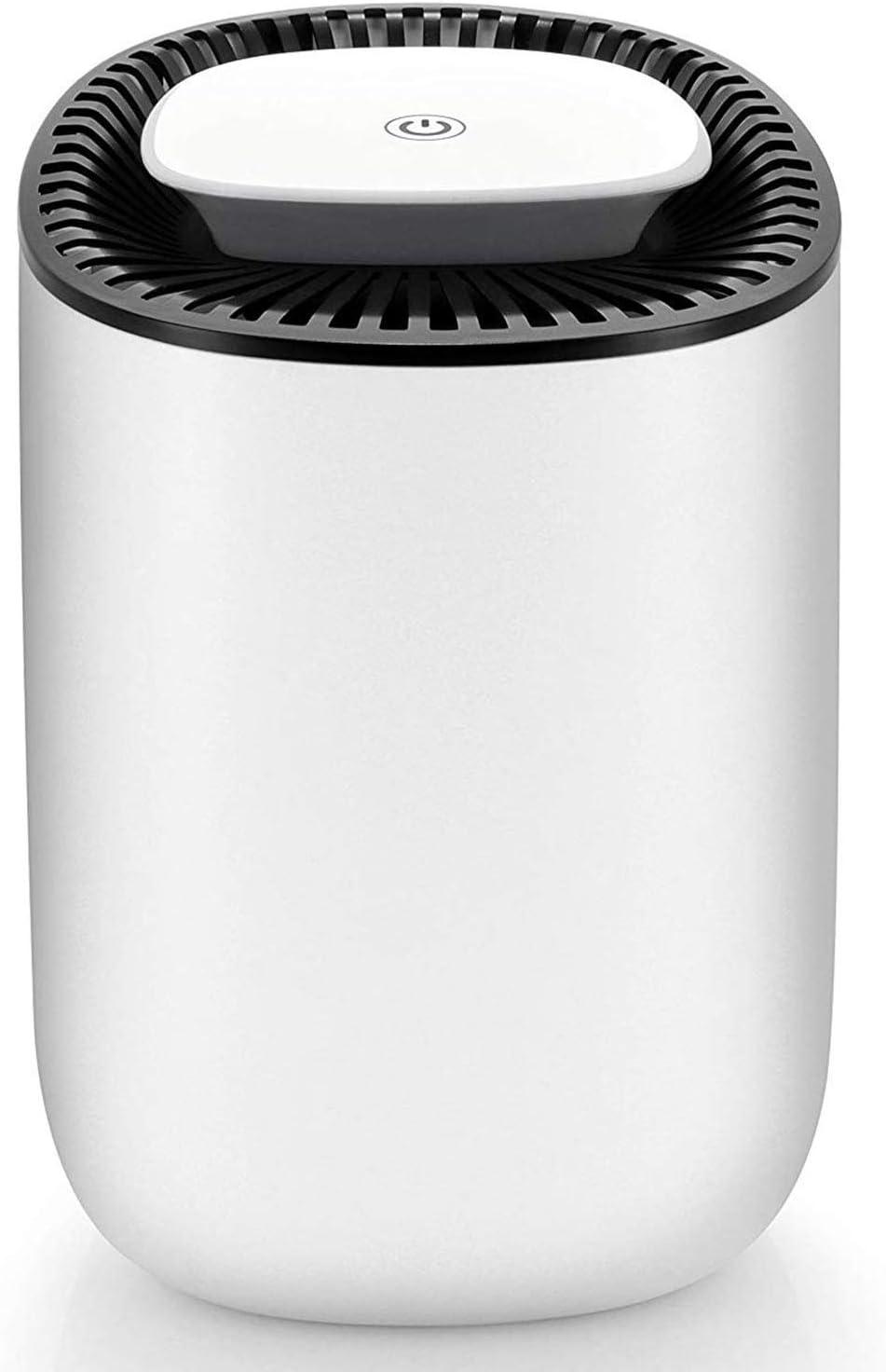 Hysure Quiet and Portable Dehumidifier Electric, Deshumidificador, Home Dehumidifier for Bathroom, Crawl Space, Bedroom, RV, Baby Room(600ml) …