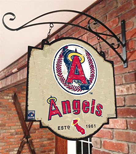 Winning Streak MLB Los Angeles Angels 11118Los Angeles Angels Tavern Sign, Multicolor, One Size ()