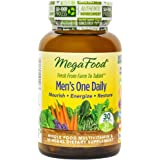 MegaFood - Men's One Daily, Supports Energy Levels & a Healthy Stress Response, 30 Tablets (FFP)