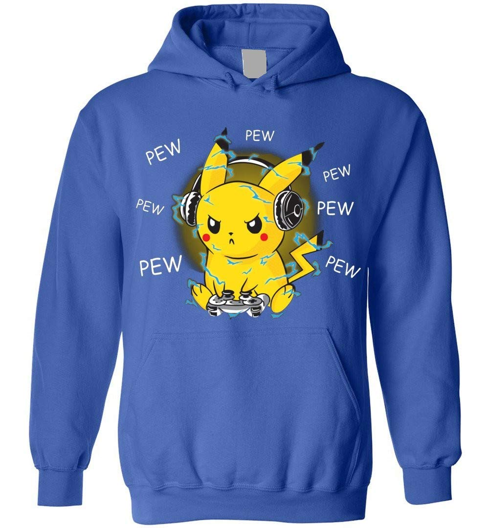Pika Pika Pikachu Adults And Blend 1687 Shirts