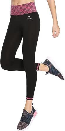 CAMEL Yoga Pants for Women High Waist Leggings Capri for Training Workout