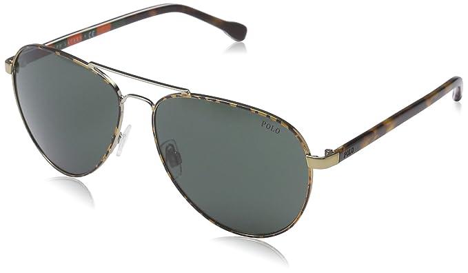 Polo Ralph Lauren PH3090, Gafas de sol Unisex Adulto, Negro ...