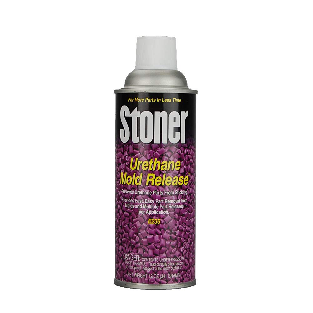 Mold Release | Stoner E236 Urethane Release (Case of 12 Aerosol Cans) by BJB Enterprises