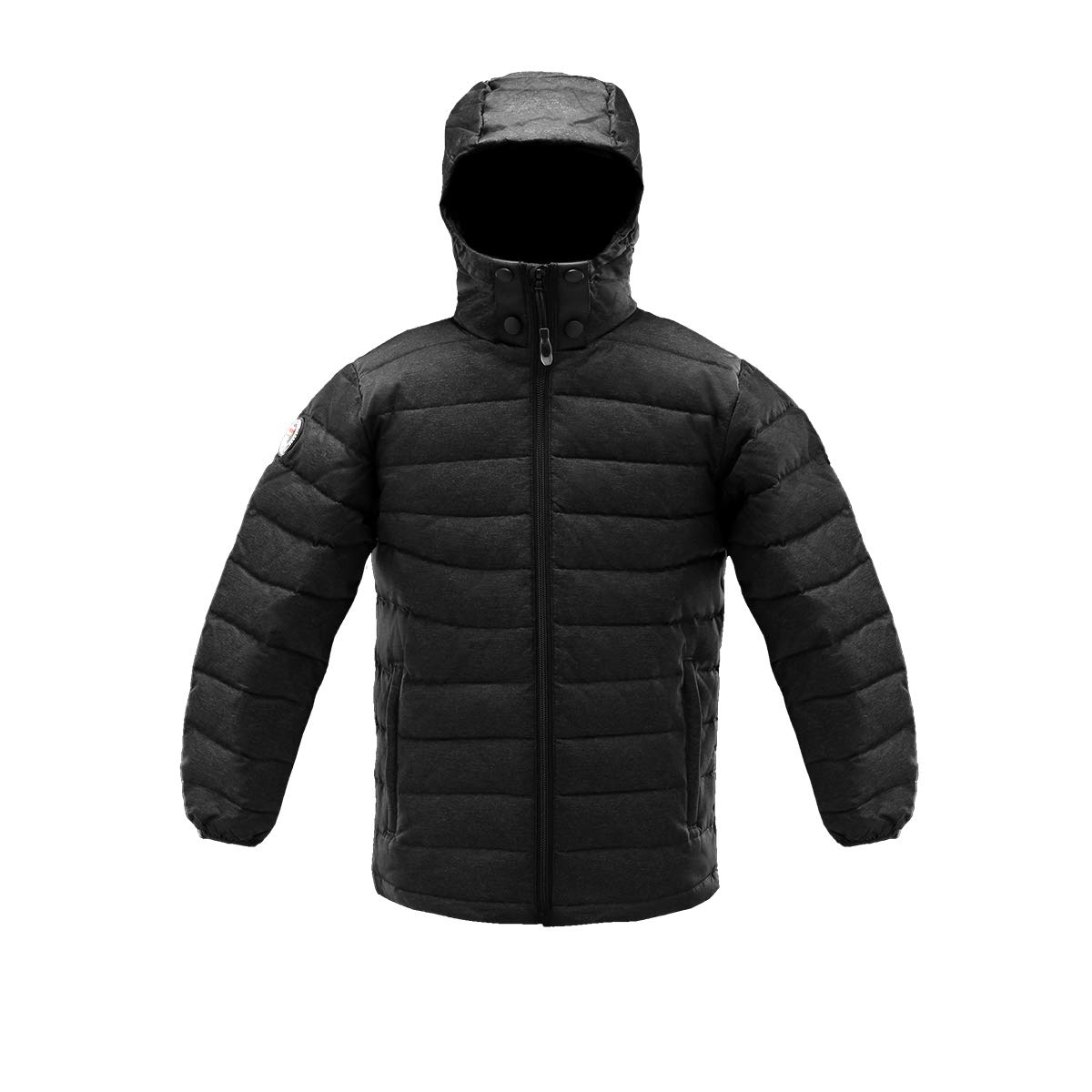 Triple F.A.T. Goose SAGA Collection   Boys 750 Fill Power Light Weight Down Jacket (8/10, Black)