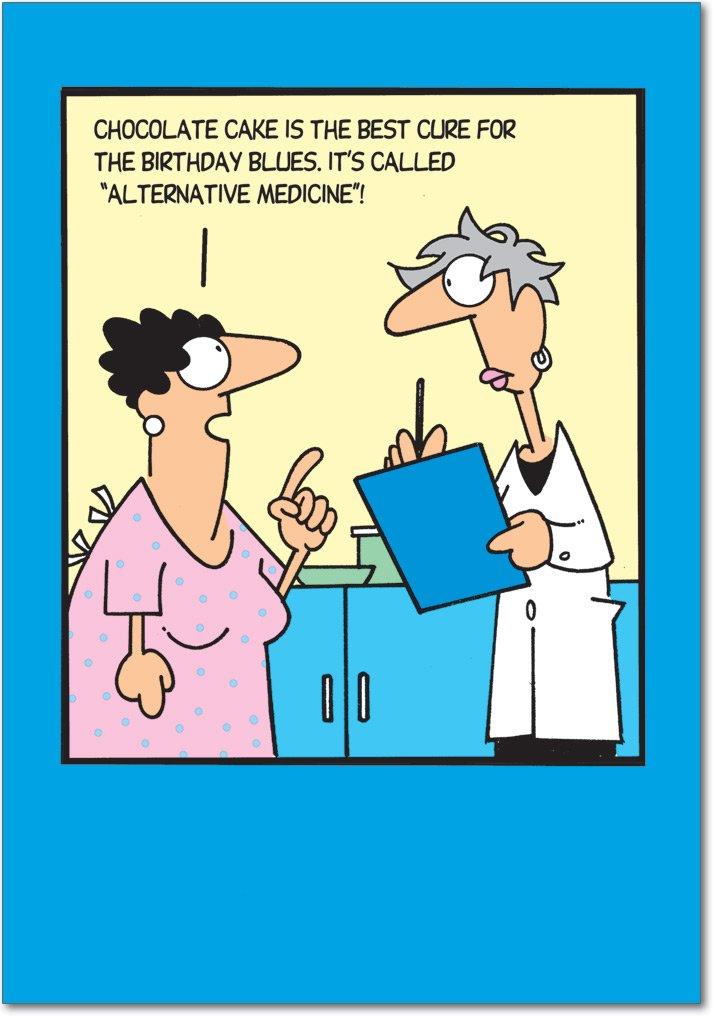 Amazon 6019 Alternative Medicine Unique Funny Birthday Card – Alternative Birthday Greetings