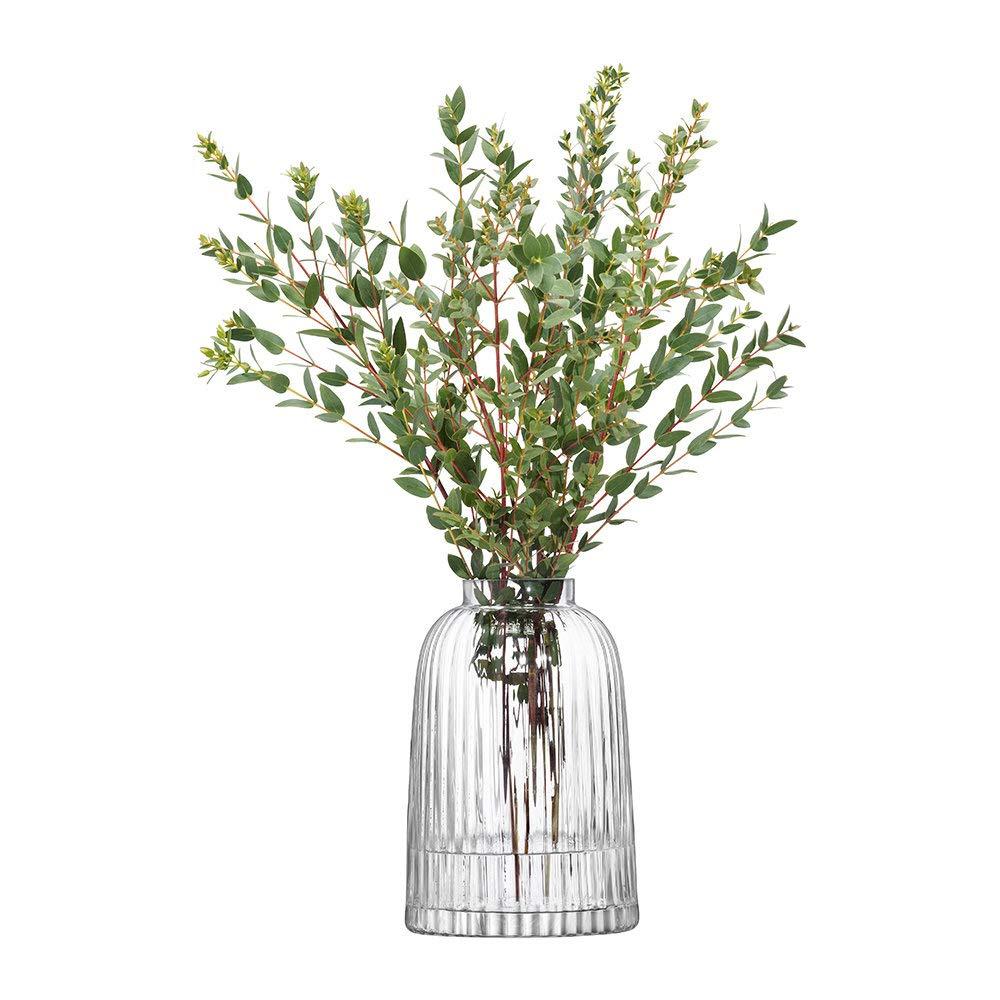 LSA PT01 Pleat Vase H20 cm Clear
